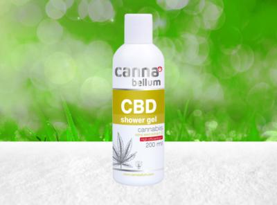 Palacio – Cannabellum CBD  Duschgel 200ml | 200 ml  CBD Creme