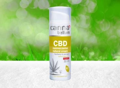 Palacio – Cannabellum CBD Canneczema natürliche Creme 30ml | 50 ml CBD Creme