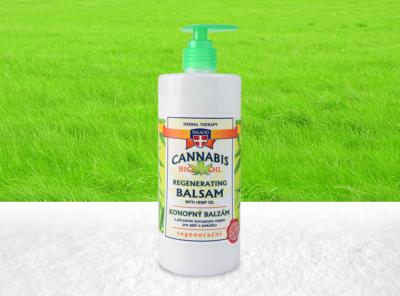 Palacio – Cannabis Balsam mit 8% BIO Hanföl 500 ml | 500 ml Hanf Creme