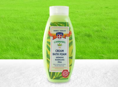 Palacio – Cannabis-Creme-Schaumbad mit  BIO Hanföl 500ml | 500 ml