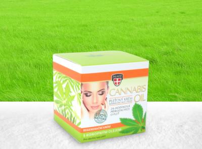 Palacio – Gesichtscreme Crystal Jar 12% Cannabis BIO Öl 50ml | 50 ml Hanf Creme