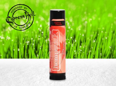 bhang – CBD-Infused Hempstick Lip Balm Cherry Cream | 1 Stück CBD Lippenstift
