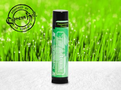 bhang – CBD-Infused Hempstick Lip Balm Peppermint Cream | 1 Stück CBD Lippenstift