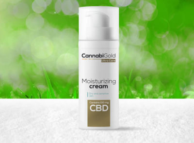 CannabiGold – Ultra Care Moisturizing Cream | 50 ml CBD Creme, 100 mg CBD