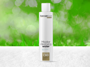CannabiGold – Ultra Care Micellar Cleansing Water | 200 ml CBD Creme, 25 mg CBD