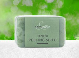 Hanf und Natur – Peeling Hanfölseife mit Hanfbeads